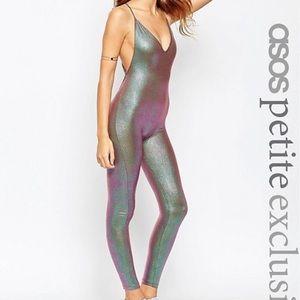 Asos Festival iridescent jumpsuit